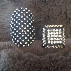 Jewelry - Brand new embellished ring bundle